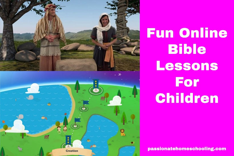 Fun Online Bible Lessons For Children