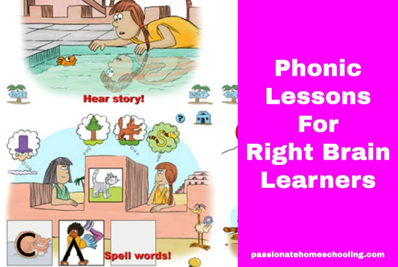 Right Brain Phonic Lessons