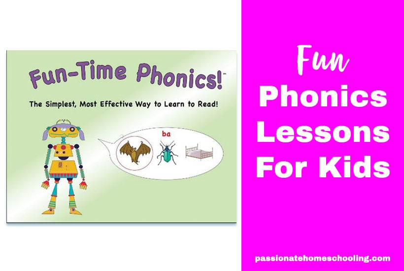 Fun Phonics Lessons For Kids