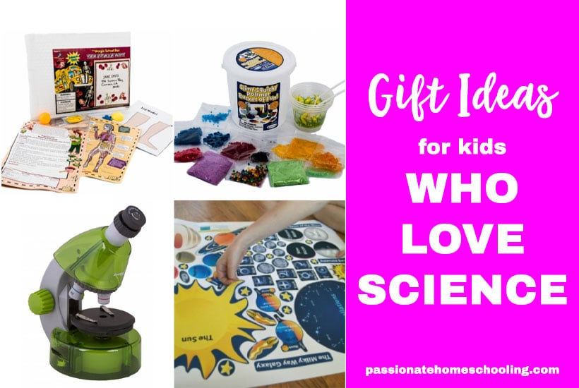 Gift Ideas For Science Loving Kids