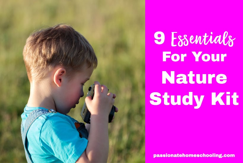 Essentials For Making A Nature Study Kit