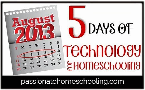 5 Days of Technology For Homeschool