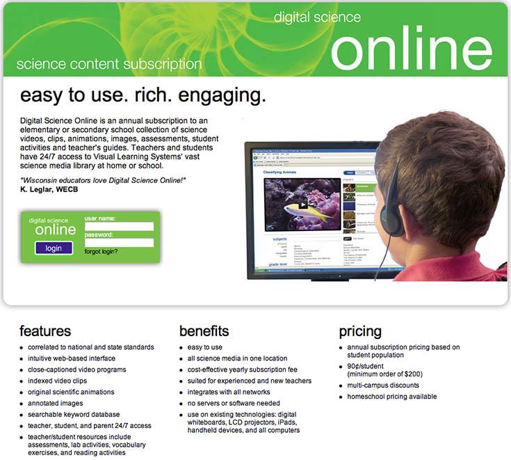 Easy To Use Online Science Program