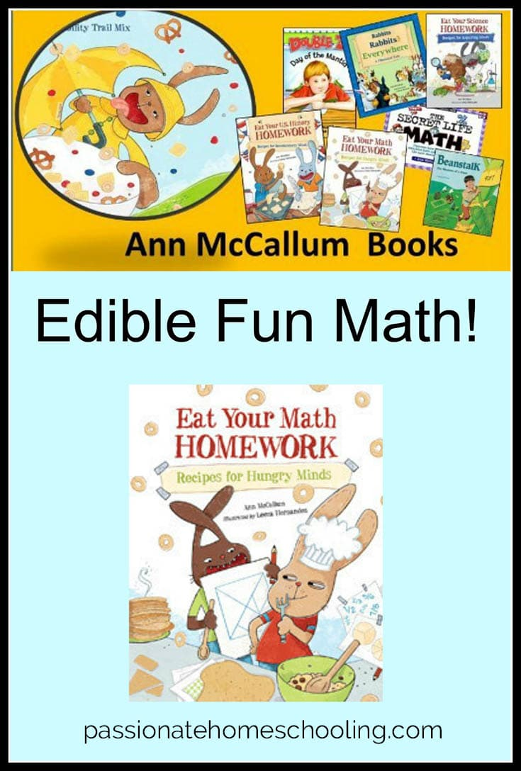 Hands On Math Activities. Eat Your Math Homework a fun way to learn math in the kitchen!