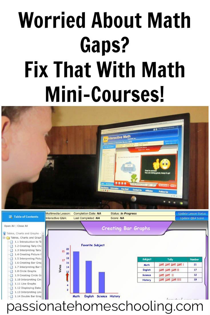 Fixing Math Gaps. Math Mini Courses can help target these weaker areas! Short, interactive lessons help your child to build a firm math foundation.