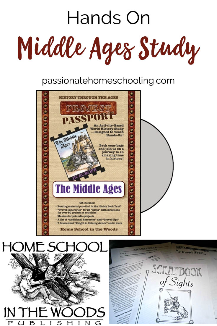 Hands On Middle Ages Study Project Passport