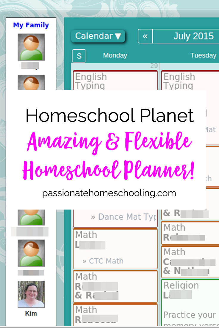 Homeschool Planet is a great homeschool planner. I've been using this homeschool lesson planner for years and love it.