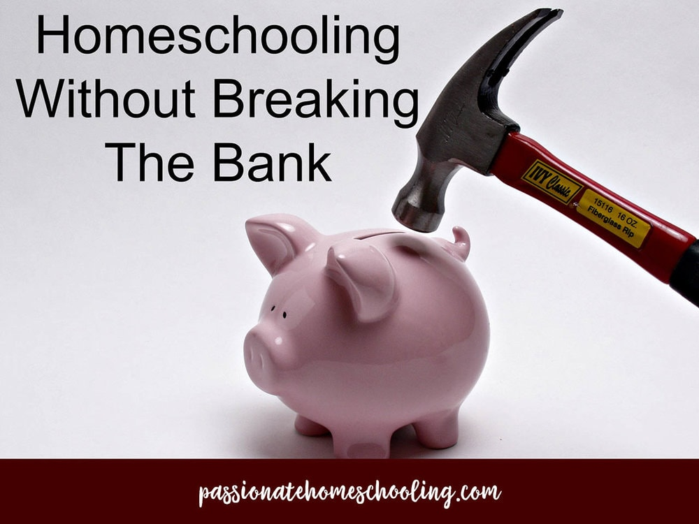 Homeschooling Without Breaking The Bank