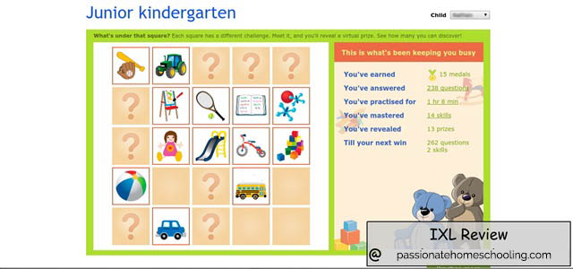 Junior Kindergarten Math Games