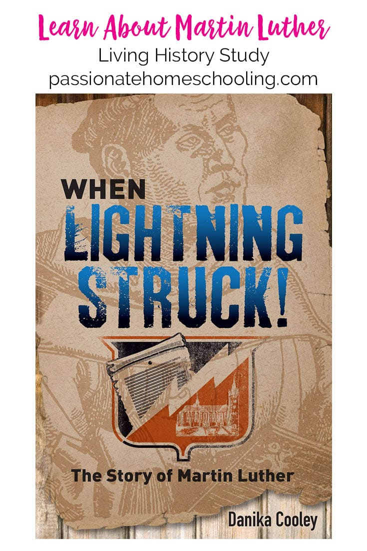 Martin Luther History. When Lighting Struck The Story of Martin Luther. This is an wonderful engaging story for teens that your whole family will love.