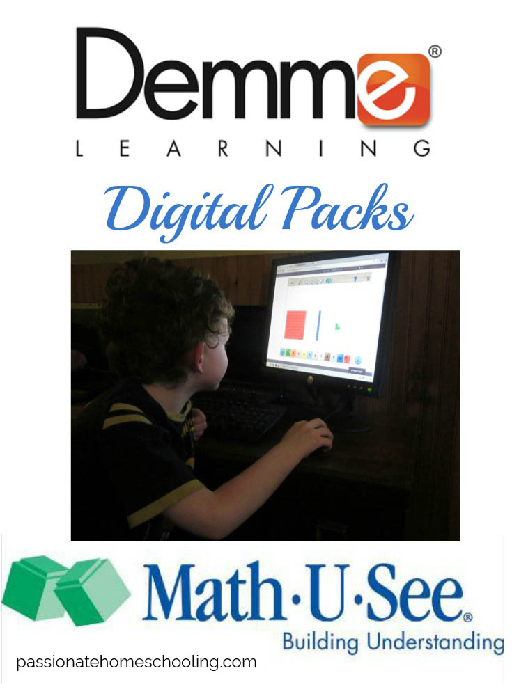 I LOVE using Math U See's Digital Packs! They make learning math so easy.