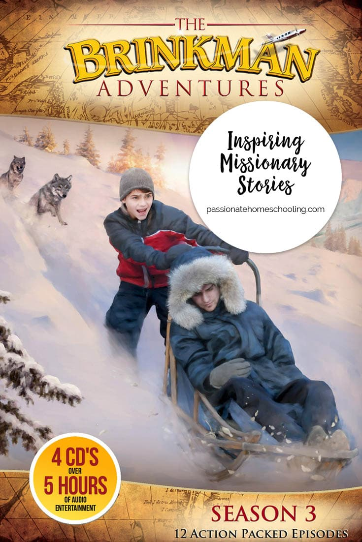 Missionary Audio Stories. Brinkman Adventures Season 3 Review. Filled with action packed stories for the whole family!