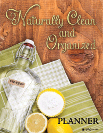 Natural Cleaning Planner