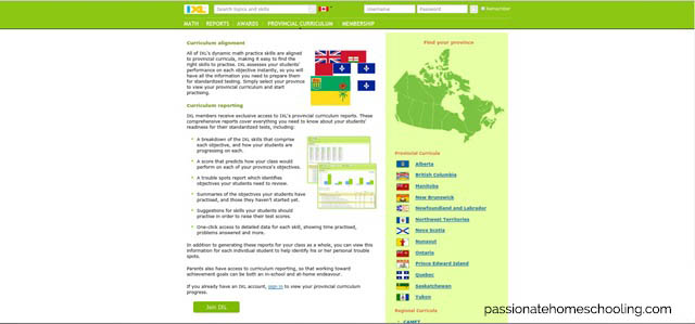 Online Canadian Math Program