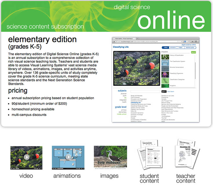 Online Elementary Science Course