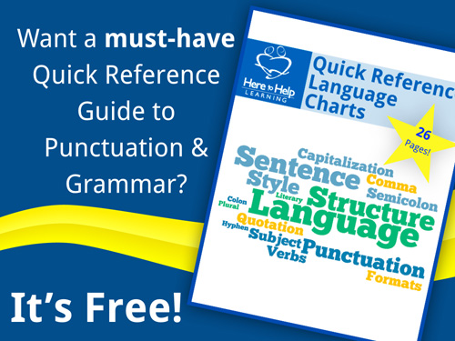 Quick Reference Language Charts