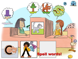 Reading games to build words