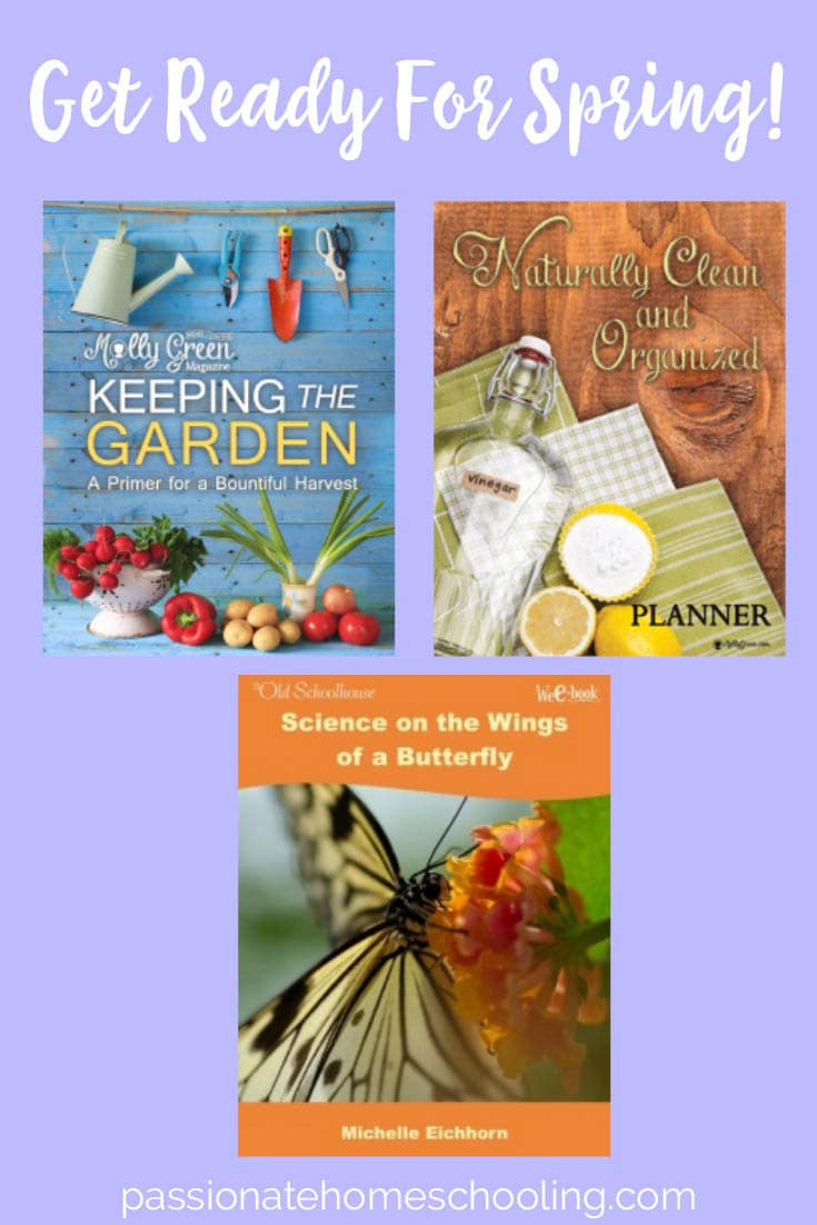 3 Great resources for gardening, naturally cleaning and nature study!