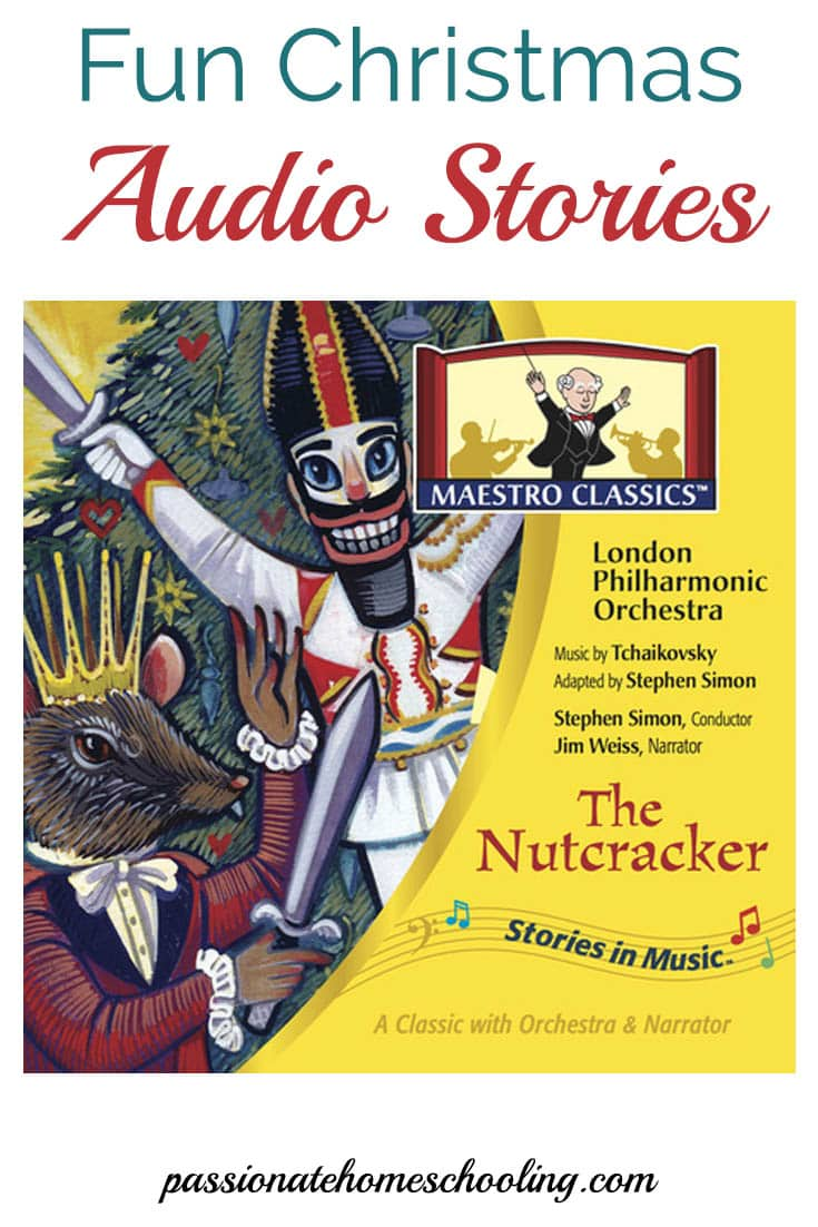 Enjoy fun Christmas audio stories from Maestro Classics. A great gift idea!