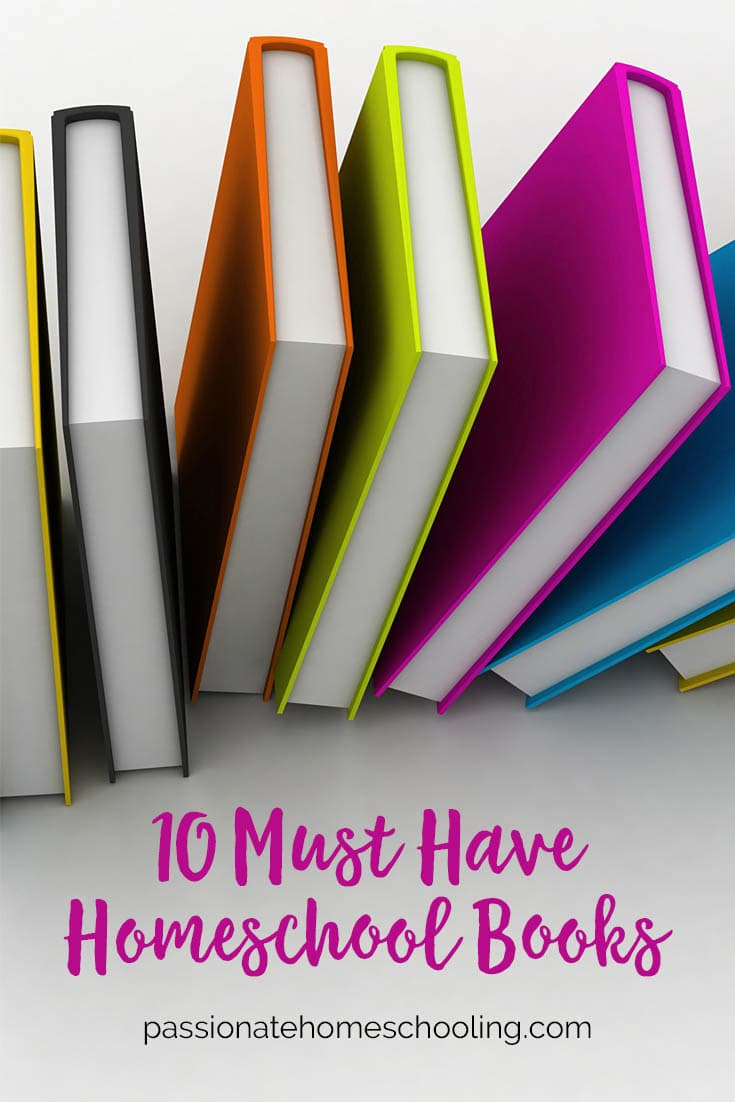 Top 10 Books That Help Me Be A Better Homeschooling Mom. These are 10 amazing books no homeschool bookshelf should be without!