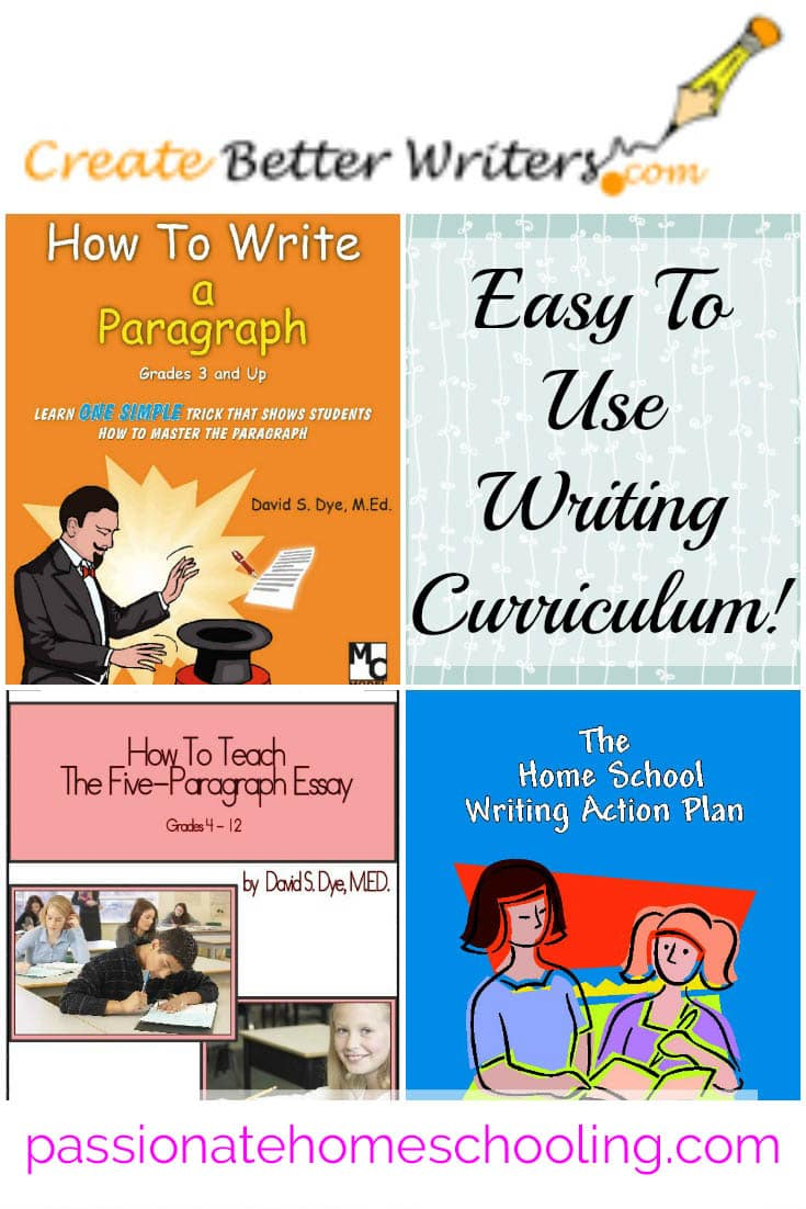 Easy to use writing program from elementary to high school from Create Better Writers. Love this program so fast and simple to use!