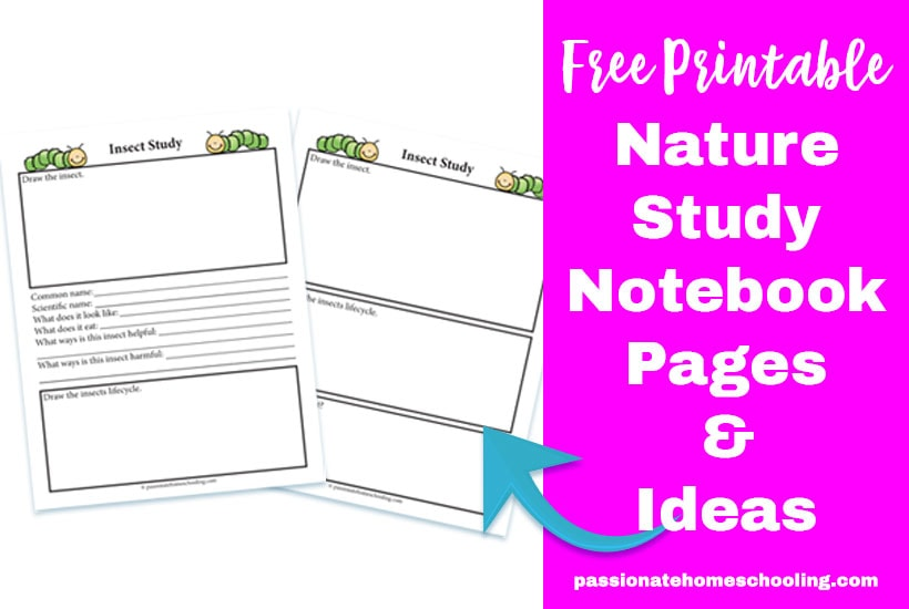 Free Nature Study Printable Notebooking Page